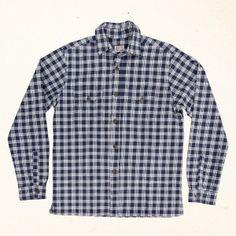 Wingnut Palaka Shirt   Indigo