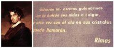 25 frases de Gustavo Adolfo Bécquer en el aniversario de su nacimiento - http://www.actualidadliteratura.com/nuevo-aniversario-del-nacimiento-gustavo-adolfo-becquer/