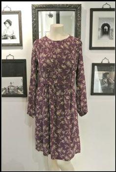 Noa Noa Angelico Flower Dress 1-2143-1 in Purple & Crockery £89