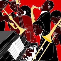 41 Best Big Band Ideas Images Jazz Poster Jazz Art Big