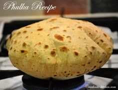 Phulka recipe step by step with tips and tricks. Phulka roti are melt in mouth and served with curries and dals. Phulka are made on direct flame or tawa.