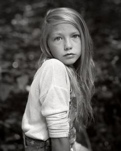 Shooting Film: Amazing Black and White Children Portrait with Medium and Large Format by Ryan Mills