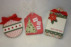 Classic Christina: Christmas Tag Class, Thursday, December 1st, 6 p.m...