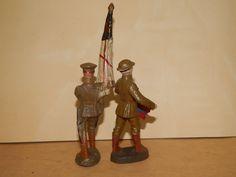 Antike Masse Figur 10,5 cm Elastolin Hausser Engländer Briten WK 1 WW 1 | eBay