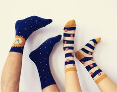footyfoot collection cute lion giraffe potato chips hamburger stripe little shoes socks for men/woman/couple/lover red green blue pink on Etsy, $16.00