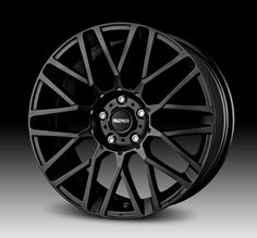$158 MOMO Car Wheel Rim - Revenge - Matte Black - 17 x 7 inch - 5 on 114.3 mm - 42 mm offset - Part # RV70751442B