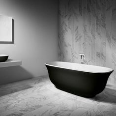 The Amiata Freestanding Bath by Victoria + Albert provides organic curves with elegant proportions that will transform your bathroom design. Co-ordinating . Victoria And Albert, Clawfoot Bathtub, Yorkshire, Baths, Design, Yorkies