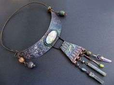 Lights. Cosmic rustic iridescent assemblage by fancifuldevices