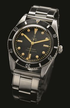 Vintage Tudor Submariner Ref. 7923 (1955) /// Founded 170 years ago, GOBBI 1842 is an official retail store for refined jewelleries and luxury watches such as Tudor in Milan. Check the website : http://www.gobbi1842.it/?lang=en