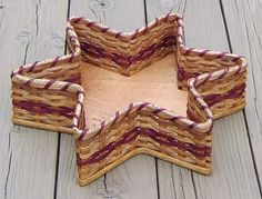 Amish Handmade Large Star Basket