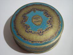 Vintage 4711 Tosca face powder box