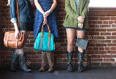 """Edgy boots + go-to handbags...Find the ultimate head-to-toe outfit in our """"Out and About"""" lookbook   Country Outfitter"""