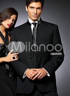 Traditional Black Single Breasted Button Worsted Groom Wedding Tuxedo - cept in beige or tan, cream Tuxedo Wedding, Wedding Groom, Our Wedding, Wedding Tuxedos, Black Singles, Suit And Tie, Here Comes The Bride, Happily Ever After, Single Breasted
