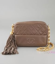 Vintage chanel bag. Someday...