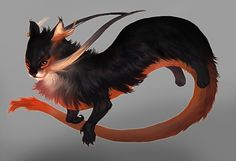 Adult Dragon by *Smirtouille    A cute kitty sort of dragon