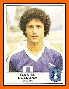 Daniel Solsona con los colores del SEC Bastia.