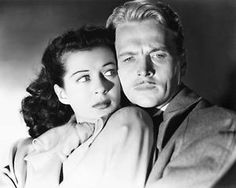 John Lund and Gail Russel in Night Of A Thousand Eyes 1948. Film Noir