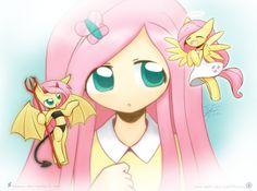 Weekly art Consciences by HowXu My Little Pony Cartoon, My Little Pony Drawing, My Little Pony Pictures, Fluttershy, Discord, Equestria Girls, Mlp Anime, Ok Ko Cartoon Network, Celestia And Luna