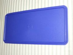 Jumbo Bread Server Replacement Seal in Lacquer Blue by Tupperware. $14.95. Tupperware Bread Server Lacquer Blue Seal. Discontinued color. Model number 607.