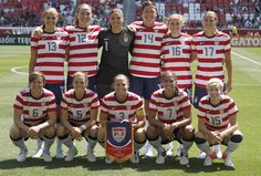 2012 USA womens olympic soccer team! Go USA!