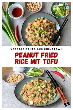 American Food, Healthy Recipes, Healthy Breakfasts, Healthy Food, Fried Rice, Peanut Butter, Fries, Foodblogger, Dinner