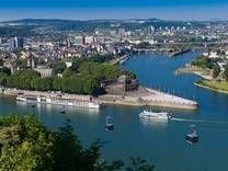 Koblenz & Rhein River