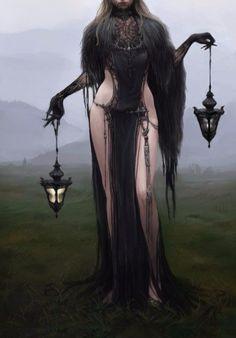 La Lune ☾ Black Witch by Jiyeon Ryu