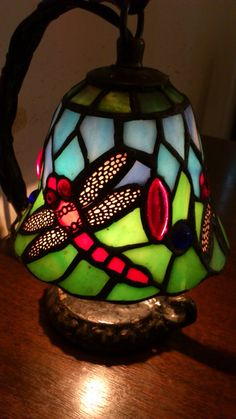 Lovely stained glass lamp.