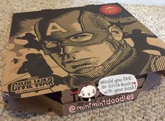 Would you like an extra Bucky with your pizza? :) #BuckyBarnes #WinterSoldier…