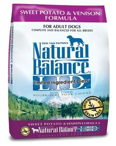 Natural Balance LID Limited Ingredient Diets Sweet Potato Venison Formula Dry Dog Food >>> You can find more details by visiting the image link. Limited Ingredient Dog Food, Dog Food Recipes, Diet Recipes, Best Dry Dog Food, Grain Free Dog Food, Pet Supplements, Look Good Feel Good, Grain Foods, Venison