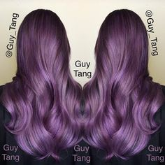 "Guy Tang on Twitter: ""Pravana #violet #silver #Lavender #clear all ..."