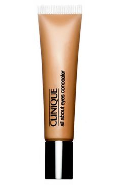 Clinique All About the Eyes Concealer: amazing coverage to hide the bags under my eyes