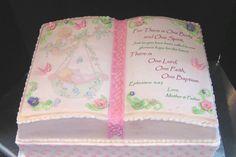 Precious Moments Angel Baptism Cake