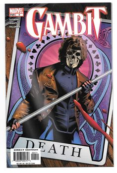 Gambit comic book published Marvel 2005 john layman georges jeanty