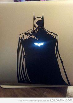 Badass Batman Laptop Decal