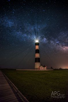 Lighthouse and the Milky Way by AP (Tony) Gouge on 500px