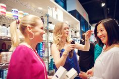 "Alexa showing the girls Oribe's ""Dry Texturizing Spray"""