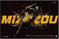Missouri 2015 Football Poster 1