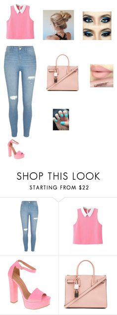 """""""Untitled #9"""" by senadaa-berbic ❤ liked on Polyvore featuring River Island, Chinese Laundry and Yves Saint Laurent"""