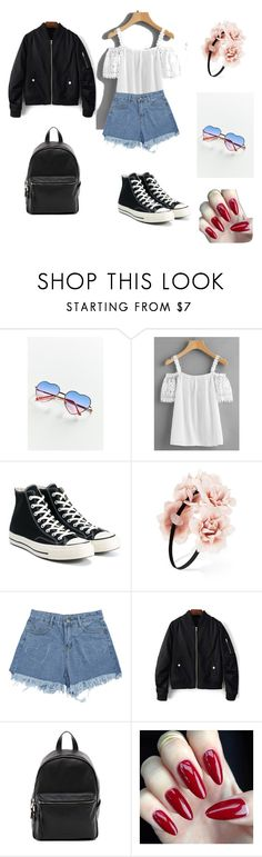 """""""Kraków Live Festival lookbook"""" by killerkatherine on Polyvore featuring Urban Outfitters, Converse, Forever 21 and French Connection"""