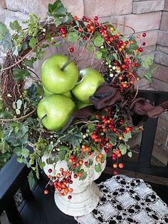 .Green apples/fall berries