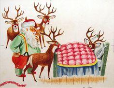 Christmas Deer- Richard Scarry