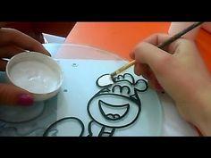 Decoración de Vitral - 7 °° PAWIS - YouTube