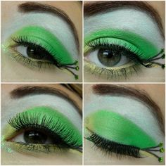 Tinkerbell inspireted :) http://www.makeupbee.com/look.php?look_id=63702