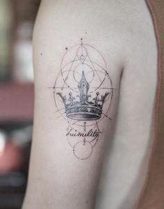 Crown Tattoo by Nando Tattoo-