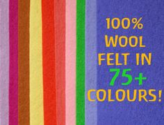 source for wool and felt