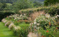 Foto del día: Bordura inglesa en Helmsley Walled Garden. The Hot Border | El Blog de La Tabla