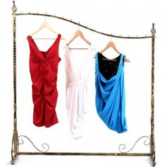 Kleiderständer Kleiderstange Garderobenständer Ladeneinrichtung HRA001
