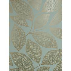 Buy MissPrint Pebble Leaf Wallpaper Online at johnlewis.com