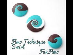Tuto Fimo - technique Swirl by FunFimo - YouTube